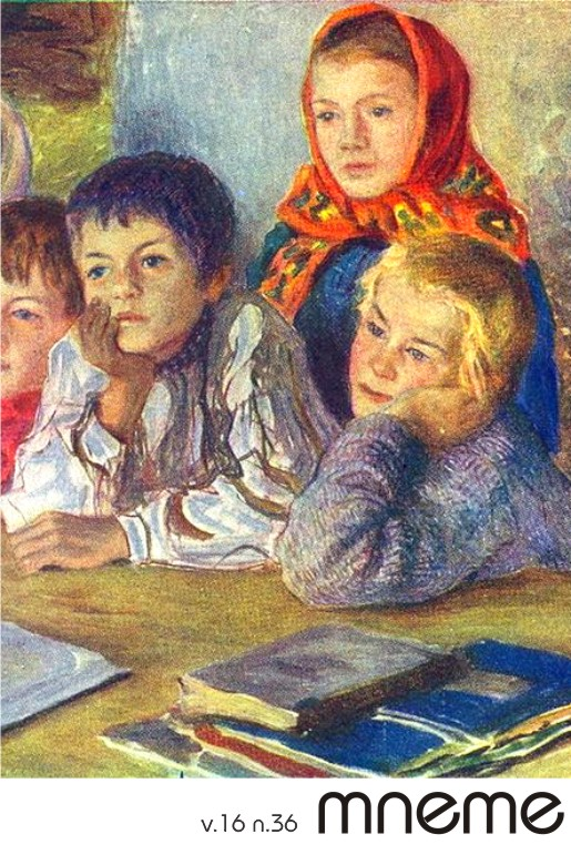 Children in a Class, do pintor russo Nikolay Petrovich Bogdanov-Belsky (1868-1945)