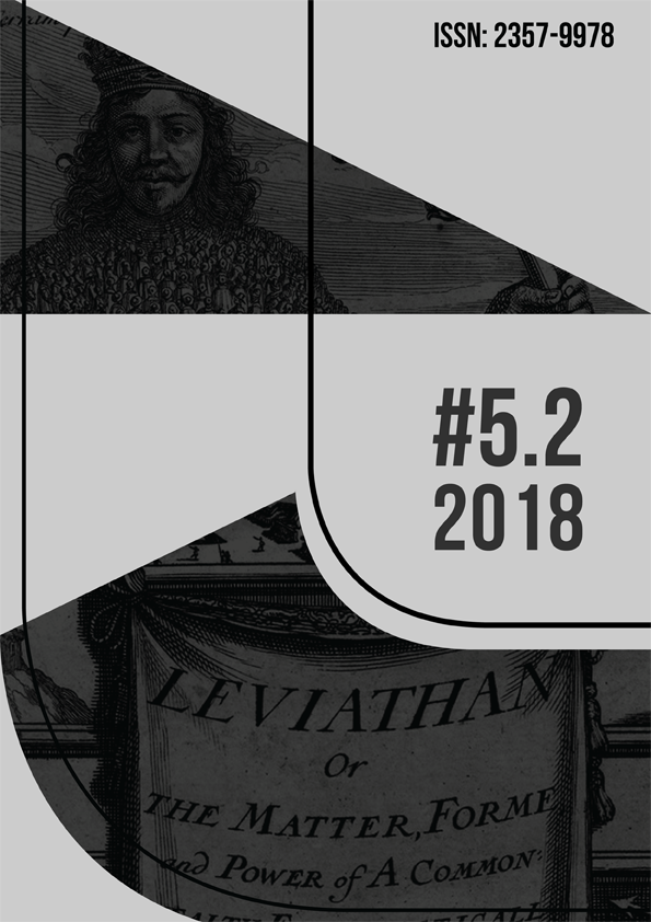 ARJ - Art Research Journal / Revista de Pesquisa em Artes; volume 5, número 2, 2018; capa