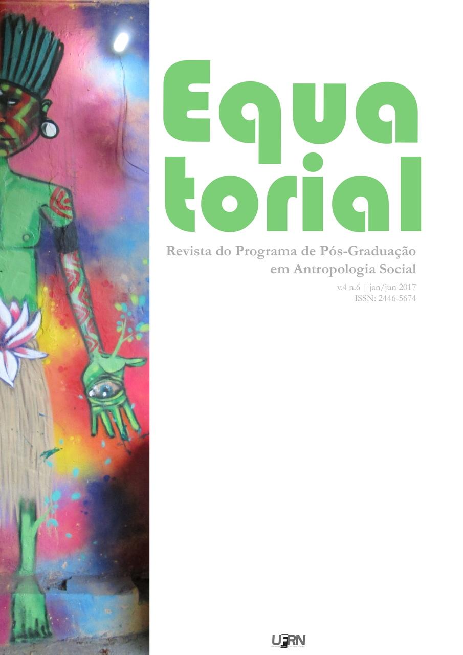 Capa com figura indígena em grafite sob parede fotografada por Gabrielle Dal Molin